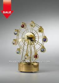exquisite musical ferris wheel collection gift desk house