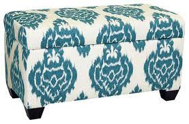 fancy storage bench ottoman gdfstudio fullerton chamois fabric