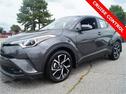new 2018 toyota c hr xle 4d sport utility in rocky mount 18019302