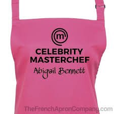 Custom Aprons For Men Buy Personalized Celebrity Masterchef Apron At The French Apron