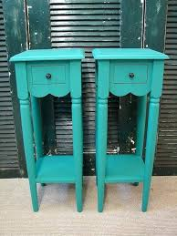 Accent Side Table Table Small Reclaimed Turquoise Paint Tall Accent Side Tables Teal