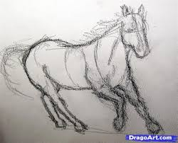 draw a realistic horse draw real horse step by step drawing