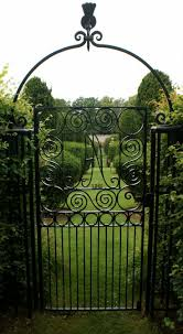 metal garden fences and gates home outdoor decoration
