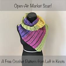 open air market scarf u2014 left in knots
