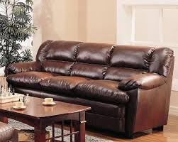 pillow arm leather sofa harper overstuffed leather sofa with pillow arms coaster 501911