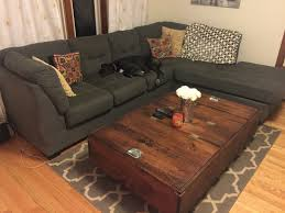 diy large coffee table with storage album on imgur