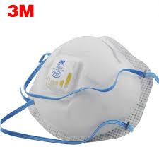 Masker Uap 3 m 8577 bau uap organik dan partikel debu masker anti kedua tangan