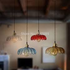 Retro Pendant Light Shades Retro Glass L Shades Aliexpress Buy Lshade Pendant