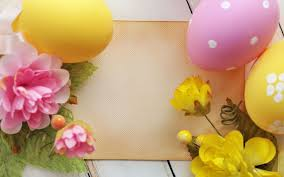 easter eggs wallpapers easter eggs and flowers wallpaper 7904