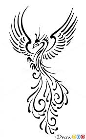 how to draw bird designs