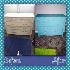 1960s bonnet by sears dresser makeover with homemade chalk paint