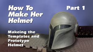 how to make a sabine wren helmet step by step guide part 1 youtube