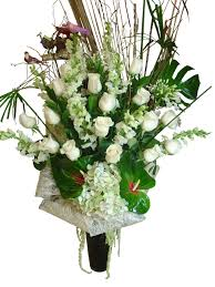 Elegance by White Elegance Anniversary Flower Arrangement Event Flowers Ny