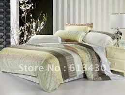Queen Comforter On King Bed Free Shipping Newest Fabric 100 Tencel Fabric Bedding Sets Queen