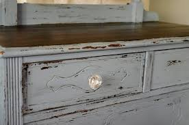 Painting Black Furniture White by Furniture Distressed Dresser In Pitch Black Milk Paint For Home