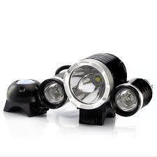 cree t6 led bicycle headlight and headlamp 3000 lumens 4400mah