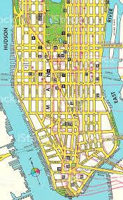 downtown manhattan map map of lower manhattan stock vector 467845758 istock