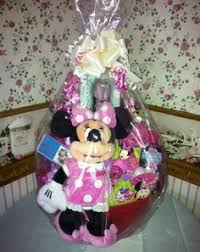 minnie mouse easter basket ideas disney minnie mouse easter basket by cacbaskets on etsy 79 99