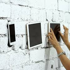 flourish lama traceless phone holder for car wall mirror
