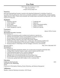 unforgettable merchandising execution associate resume examples to