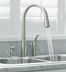 custom kitchen faucets bainbridge single pull kitchen faucet prep sink