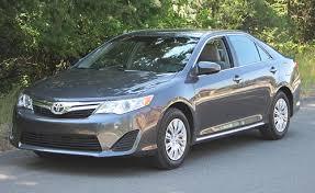 toyota l vs le 2012 toyota camry trim level breakdown cars com