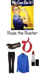 Rosie Riveter Halloween Costume Minute Halloween Costumes Unsweetened