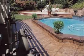 Stain Existing Concrete Patio by Esr Decorative Concrete Experts Stamped Overlays Esr