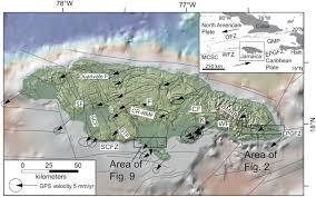 Map Of Kingston Jamaica Enriquillo U2013plantain Garden Fault Zone In Jamaica Paleoseismology