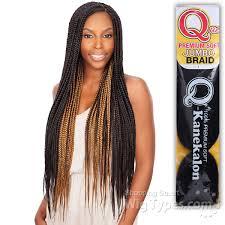 box braids hairstyle human hair or synthtic freetress synthetic braid que premium soft jumbo braid 7500