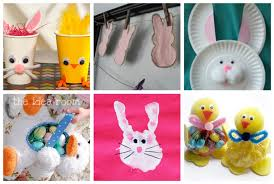 Easter Decorations For Preschool by Easter Crafts U0026 Fun Food Ideas