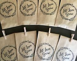sunflower seed wedding favors seed wedding favors etsy