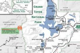 grand map lodging grand teton yellowstone national park map jackson traveler
