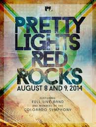 pretty lights red rocks tickets pretty lights at red rocks with live band symphony members