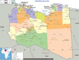 Map Of Benghazi Benghazi Map This Map Shows The Routes Of Europe U0027s Refugee