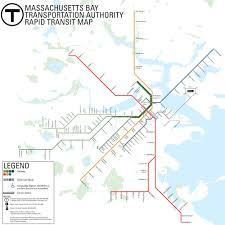 Boston Ferry Map by Mbta U003e About The Mbta