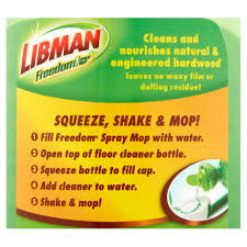 Holloway House Cleaner by Libman Freedom Hardwood Concentrated Floor Cleaner 16 Oz