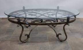 wrought iron coffee table with glass top wrought iron side table with glass top http inkv info