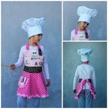 tablier cuisine pour enfant kid s chef hat reglable toque for toque cuisinier toque et