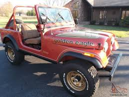 cj jeep for sale cj 7 golden eagle all original low miles