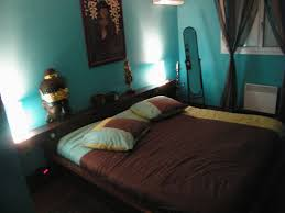 chambre marron et turquoise deco chambre bleu et marron avec enchanteur chambre et taupe