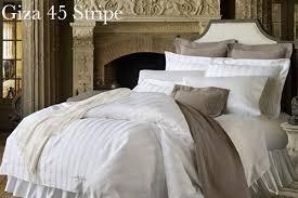 Sferra Duvet Cover Sferra Giza 45 Dobby Stripe Bed Linens Plumeria Bay