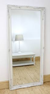 gerona white shabby chic full length vintage dress mirror 17