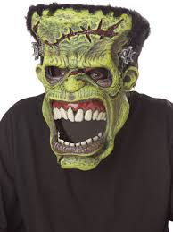 frankenstein mask frankenstein ani motion mask 60583 fancy dress