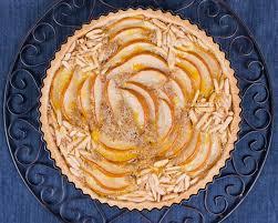 caramelized pear u0026 almond upside down cake recipe sylvaine hughson