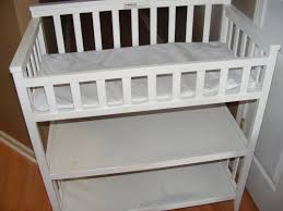 White Wood Changing Table Baby Gear Misc Items Wee Cycle Of Jax