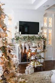 185 best christmas mantels images on pinterest christmas