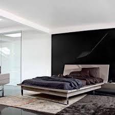 Custom Platform Bed Bedroom Furniture Design Custom Platform Bed And Rustic Nightstand