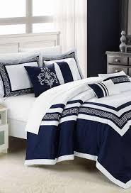 Navy Blue Bedding Set Bed Linen Outstanding Blue And White Bedding Sets Blue Bedding