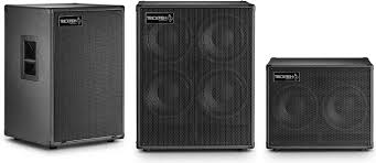 bass cabinets on speaker sizes and pairing them up